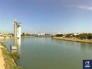 Ruta circular por Sevilla, pasando por uno de las zonas mas impresionantes, el Puente de Triana