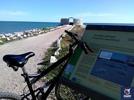 Bike route from the promenade of Malaga to the mouth of the Guadalhorce river.