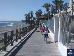 Bicycle route from Marbella Port to Puerto Banus