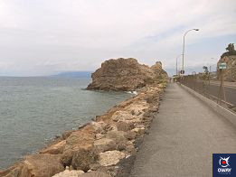 Bicycle route along the beaches of Malaga