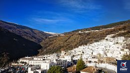 Capileira, a village in the Alpujarra located at an altitude of 1436 meters.