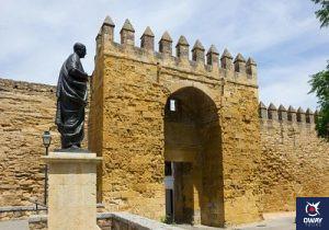 La Puerta de Almodóvar ubicada en los alrededores de la Judería tiene un gran valor histórico para la ciudad