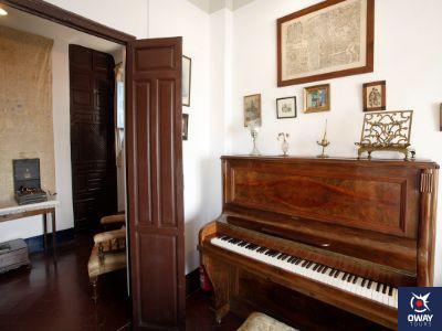 Interior de la Casa-Museo de Manuel de Falla en Granada