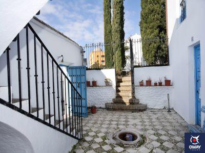 Central courtyard of the Manuel de Falla House-Museum in Granada