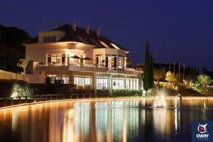 El Lago restaurant, Marbella