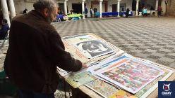 Este mercadillo es conocido como el Mercado de Coleccionistas y lleva organizándose aquí en la plaza del Cabildo desde el año 1997