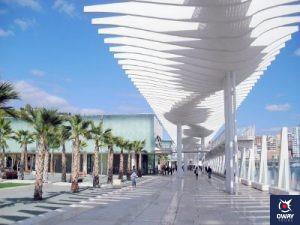 Muelle 1 Puerto de Málaga