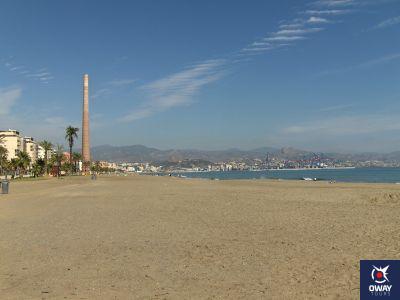 Playa de la Misericordia Málaga