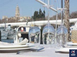 Restaurante en el Puerto de Málaga
