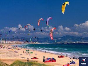 Image of a beach in Tarifa