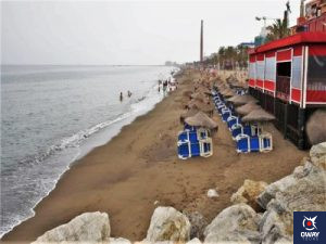 Imagen de la playa de Motril