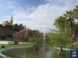 Photo du parc botanique