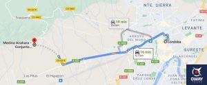 Cómo llegar a Medina Azahara en coche
