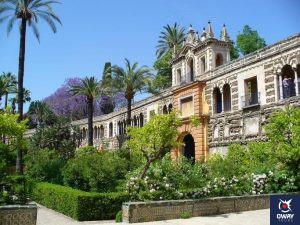 El Cuarto Real Alto del Alcázar de Sevilla