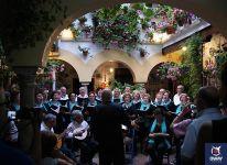 Coro navideño en los Patios de Córdoba