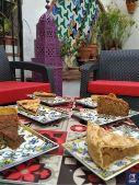Pasteles árabes tetería Nerja