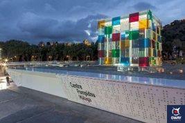 Centro Pompidou Malaga, a une collection entre les XXe et XXIe siècles qui comprend des œuvres de Picasso, Miró, Frida Khalo, Chagall ou Chirico.