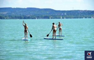 """Paddle surfing, also known as """"stand up paddle surfing"""", is a sport that at first glance seems easy, as it consists of taking a surfboard, standing on it and paddling with a stick over the sea. However, to our surprise, it is a sport that is quite complicated, especially for beginners."""