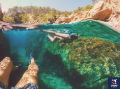 Snorkelling means entering a beauty that you are not used to and at the same time entering a continuous state of peace underwater.